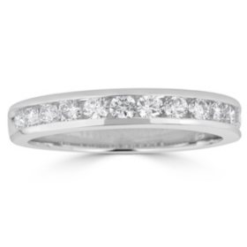 0.50 CT. T.W. 12-Stone Round Diamond Channel-Set Band Ring in 14K Gold (H-I, I1)