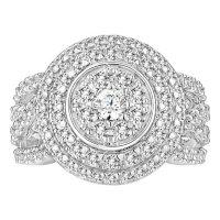 2.00 CT. T.W. Diamond Ring in 14K White Gold (I-I1)
