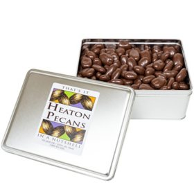 Heaton Pecans, Chocolate-Covered (4.2 lbs.)