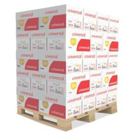 "Universal Copy Paper, 92 Brightness, 20lb, 8-1/2"" x 11"", White, Choose Case or Pallet"