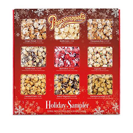 Popcornopolis Popcorn Christmas Sampler