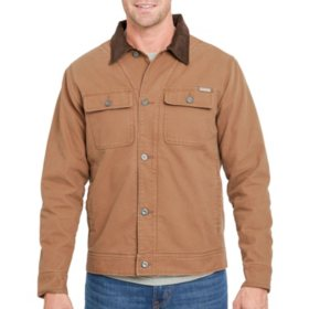 Designer Men's Corduroy Collar Jacket