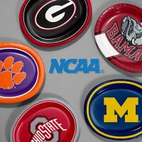 "NCAA Platter Plates, 10"" x 12"" (55 ct.) (Choose Your Team)"