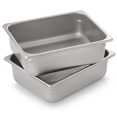 Member's Mark Half-Size Steam Table Pan (2 pk.)