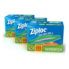 Ziploc Sandwich Bag (1740 ct., 3 pk.)