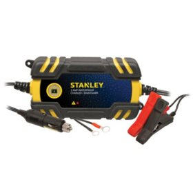 Stanley 2 Amp Waterproof Battery Charger Maintainer