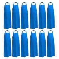 Kleen Handler Reusable Waterproof TPU Bib Apron, Blue (12pk.)