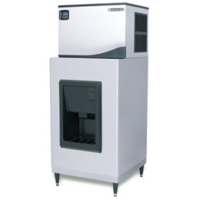 """Maxx Ice Hotel Dispenser 30"""" Wide with Full Dice Ice Machine (Choose Your Size)"""