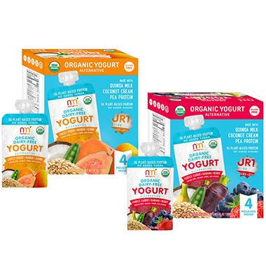 NurturMe Organic Dairy-Free Yogurt – Pick 4 Bundle (3.5 oz., 16 ct.)