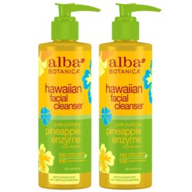 Alba Botanica Pore Purifying Pineapple Enzyme Facial Cleanser (8 oz., 2 pk.)