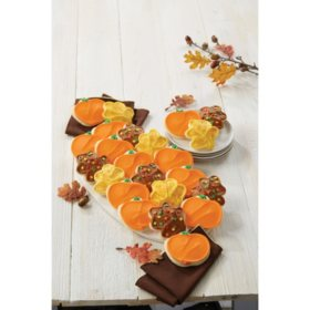 Pumpkin And Leaf Cut Outs (24 ct.)