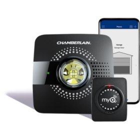 MyQ Chamberlain Garage Door Opener Hub and Sensor Bundle