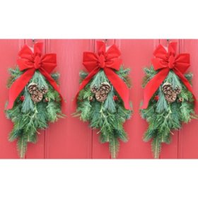 Classic Christmas Swag (Set of 3)