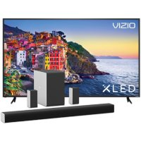 VIZIO 80-in XLED 4K TV and VIZIO 36-in Home Theater Sound