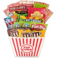 Movie Treats for the Scholar Gift Basket Deals
