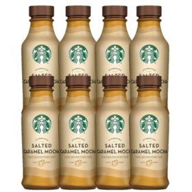 Starbucks Iced Latte Salted Caramel Mocha 14 Oz 8 Pk