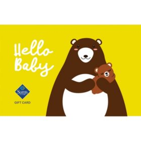 Sam's Club Baby Gift Cards - Various Values