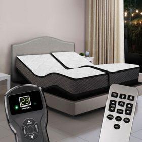Split King Digital Princeton™ Premium Plush Top Air Bed & Dual Luxury  Adjustable Powerbases™