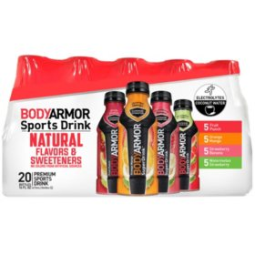 BodyArmor Sports Drink Variety Pack (16 oz. bottle, 20 ct.)
