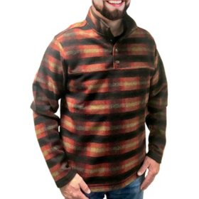 John Wayne Wooly Plaid Fleece Pullover