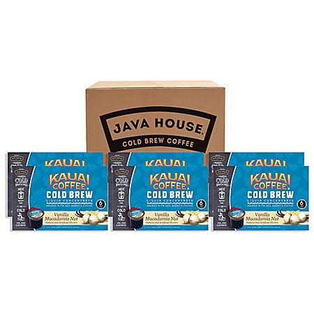 Kauai Cold Brew K-Cups, Vanilla Macadamia (36 ct.)