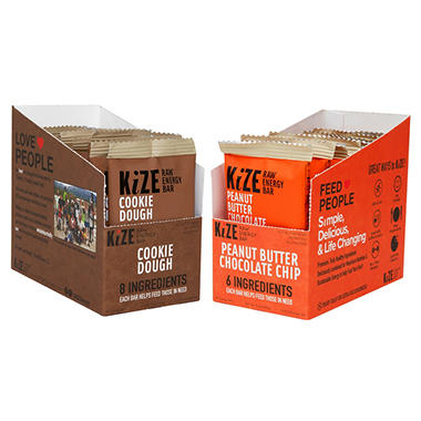 KiZE Raw Energy Bars (Mix & Match Any 2 Flavors)
