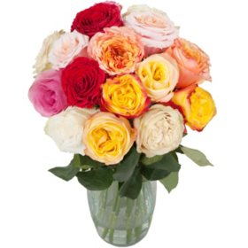 Sweet Success Garden Rose Bouquet