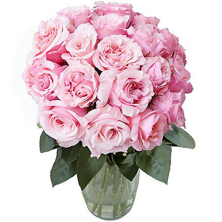 Dreaming in Pink Garden Rose Bouquet