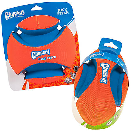 Chuckit! Kick Fetch Small and Fumble Fetch Small Dog Toy Bundle