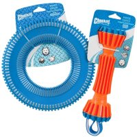 Chuckit! Rugged Flyer and Rugged Bumper Dog Toy Bundle