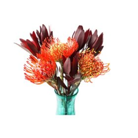 Hearts of Fire Bouquets (6 Bunches)