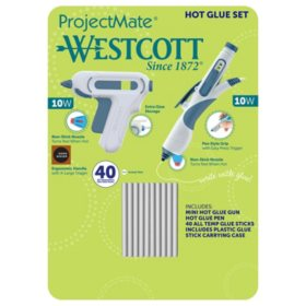 Westcott Hot Glue Set, (Choose Your Color)