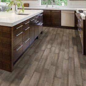 Select Surfaces London Gray Porcelain Plank Flooring