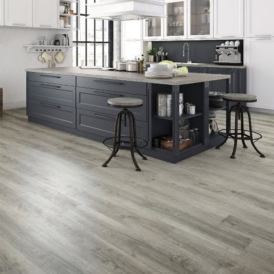 Select Surfaces Harbor Gray Rigid Core Vinyl Plank Flooring 3