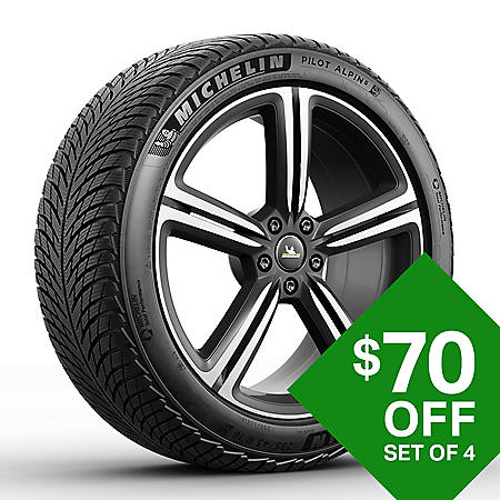 Michelin Pilot Alpin 5 - 225/55R18/XL 102V Tire