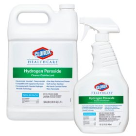 Clorox Healthcare Hydrogen Peroxide Cleaner (32 oz. Spray with 1 Gallon Refill)