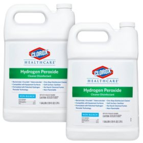 Clorox Healthcare Hydrogen Peroxide Cleaner, Gallon Size Refill (Choose Your Count)