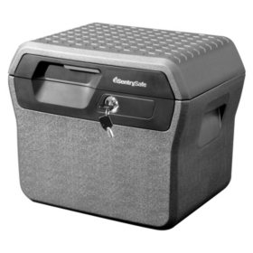 SentrySafe FHW40200 Fireproof Box and Waterproof Box with Key Lock 0.66 cu ft