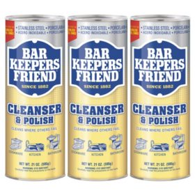 Bar Keepers Friend Powdered Cleanser and Polish (21 oz., 3 pk.)