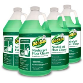 OdoBan Earth Choice Neutral pH Floor Cleaner (4 ct.)
