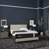 """TEMPUR-LuxeAdapt Firm Pressure-relieving and Ultra-conforming 13"""" Split King Mattress Set"""