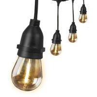 Feit Electric 30' LED String Lights (15 bulbs)