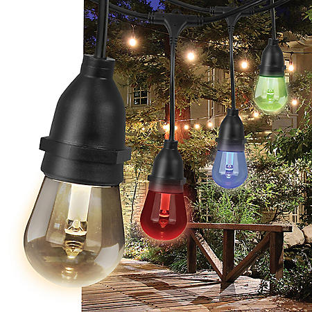 Feit Electric 30' Color-Changing LED String Lights (15 bulbs)