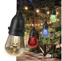 Feit Electric 30' Color-Changing LED String Lights (18 bulbs)