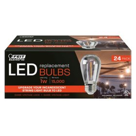 Feit Electric LED Filament Bulbs (24 pk.)