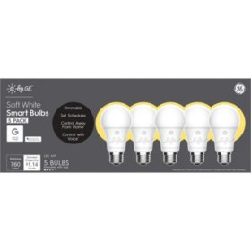 C by GE Soft White Smart Bulbs (5 Pack)