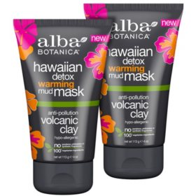 Alba Botanica Hawaiian Detox Cleanser & Mask