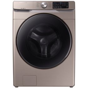 SAMSUNG 4.5 cu. ft. Front Load Washer with Steam - WF45R6100A - (Choose Color)