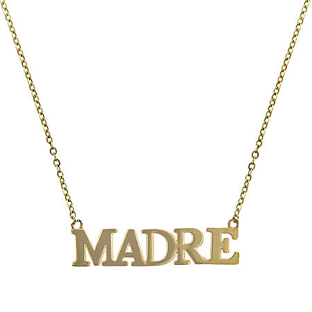 """14K Yellow Gold Madre Necklace, 18"""""""