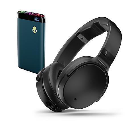 f1288839b86 Skullcandy Venue Wireless Over Ear Headphones & Stash Power Bank Bundle